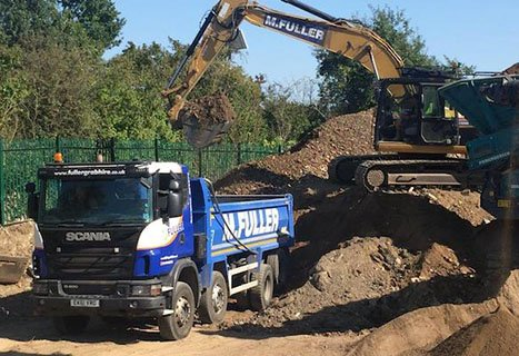 Muck waste removal company Surrey