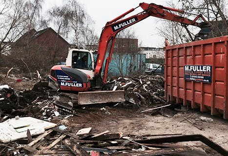 Ground restoration and site clearance company Byfleet